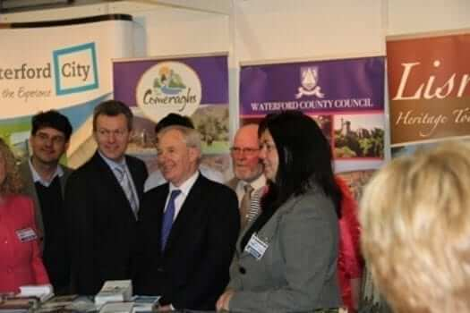 Michael Ring, Minister for Tourism, Holiday World Show 2012