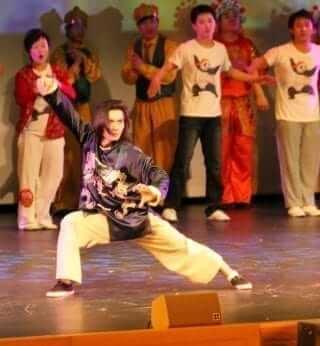 Chinese dancing, martial arts