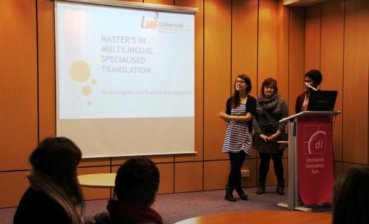 Presentation of the Master MST Université Lille 3