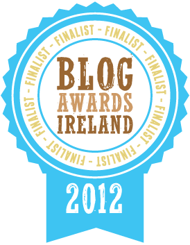 Blog awards finalist 2012