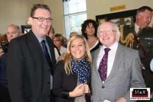 Irish translation services, STAR meets President Michael D. Higgins.