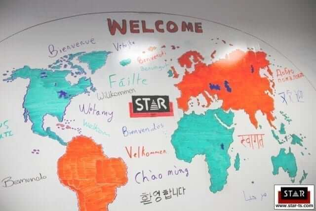 star translation smar wall paint