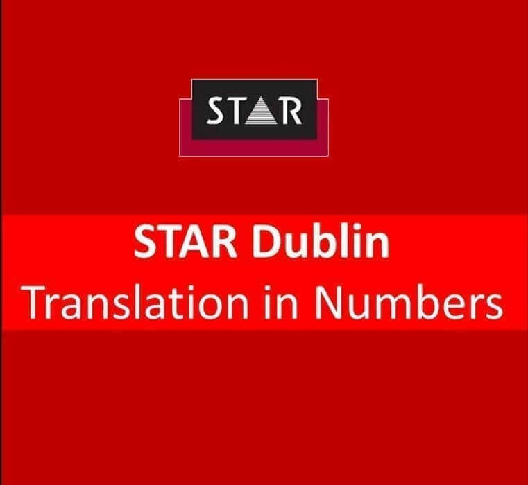 STAR by numbers 2013, translation projects