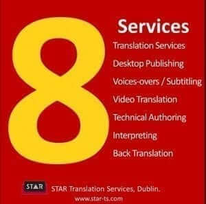 Translation services, STAR by numbers 2013