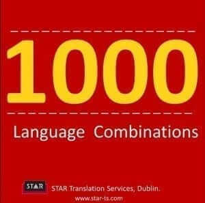 Language combinations, STAR by numbers 2013