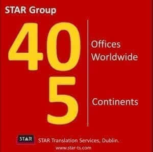Offices worldwide, STAR by numbers 2013