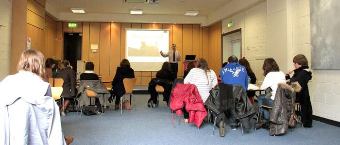 STAR presentation to French Master's students