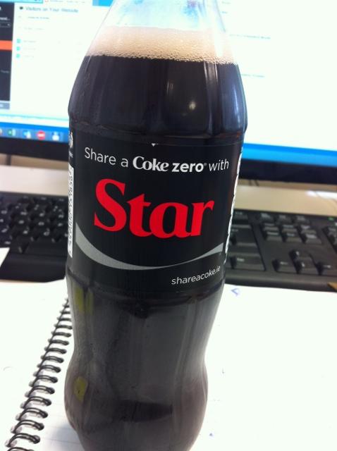 STAR Coke Zero