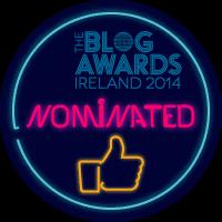 Blog Awards 2014 Nominated, Ireland