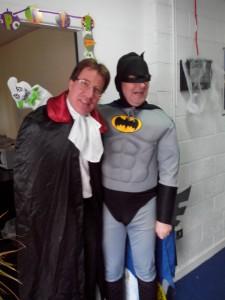 Our Managing Directors in full costume