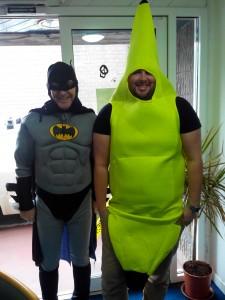 Batman meets Bananaman, STAR Halloween Party