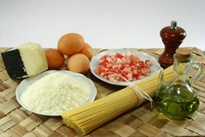 Spaghetti alla Carbonara: Ingredienti