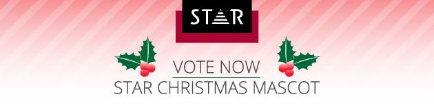 Vote Now, STAR Christmas Mascot