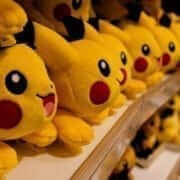 Pikachu in Hong Kong